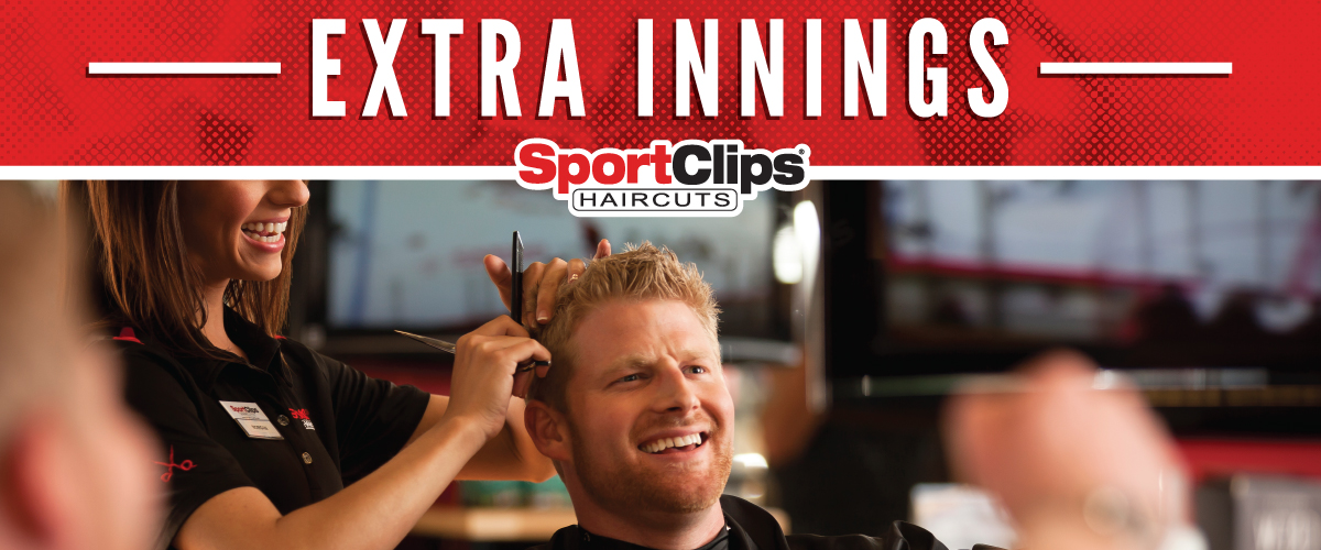 The Sport Clips Haircuts of South Pasadena - Fair Oaks Extra Innings Offerings